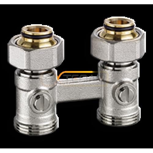 """Клапан для нижнего подключения IMI Heimeier VEKOTRIM, для двухтрубной системы, G 3/4"""" x G 3/4"""", проходной, латунь"""