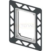 Рамка монтажная TECE Filo черная, 9242042