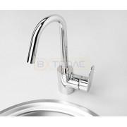 Смеситель WasserKRAFT Donau 5347 для кухни, хром, 5347