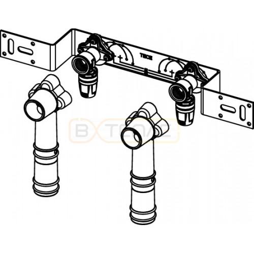"""Монтажный комплект TECElogo Push-fit для смесителя 16 x 1/2"""", латунь"""