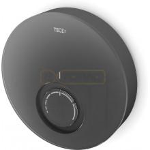 Дизайнерская панель комнатного термостата TECEfloor DT, стекло черное, корпус черный