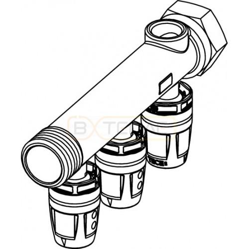"Коллектор TECElogo Push-fit 16 x 3/4"", 2 контура"