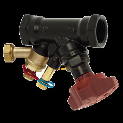 """Балансировочный клапан IMI TA STAD B, с дренажем G 1/2"""", DN32, вн резьба, PN20, AMETAL"""
