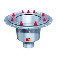 Дренажный трап с вертикальным штуцером BASIKA л/c 3,0 DN 100