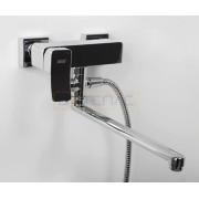 Смеситель WasserKRAFT Aller 1062L для ванны с длинным поворотным изливом 350 мм, хром