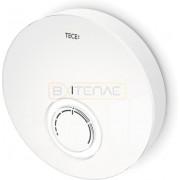 Дизайнерская панель комнатного термостата TECEfloor DT, стекло белое, корпус белый, 77400016