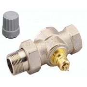 Прямой клапан для однотрубной насосной системы отопления Danfoss RA-G Ду 15, 013G1675