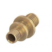 Соединение труба-труба редукционное латунь 20 x 16 мм