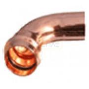 Отвод 90°15 гладк/раструб, R900115