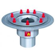 Дренажный трап с вертикальным штуцером BASIKA л/c 1,6 DN 100, 302 30 48