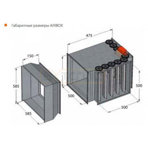 Камера смешения AIRBOX для SONNIGER HEATER