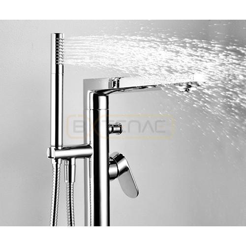 Напольный смеситель WasserKRAFT Dinkel 5821 для ванны