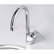 Смеситель WasserKRAFT Leine 3507 для кухни, хром, 3507