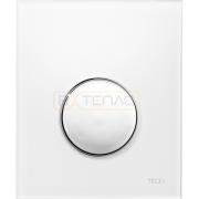 Кнопка смыва TECE Loop Urinal белая, кнопка хром, 9242627