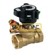 Ручной балансировочный клапан Danfoss MSV-BD DN 15 Kvs 3.0 с внутренней резьбой, 003Z4001