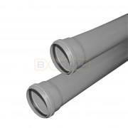 Труба Vаlfex BASE D 110 с раструбом L=0.25 м