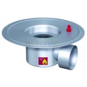 Дренажный трап с горизонтальным штуцером BASIKA л/c 1,6 DN 100, 302 20 16