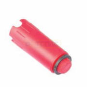 """Заглушка для опрессовки TECE пластиковая 1/2"""" AG, красная, 720601"""