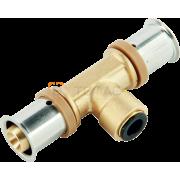 Тройник KAN-therm Press LBP/click 16x8x16 мм