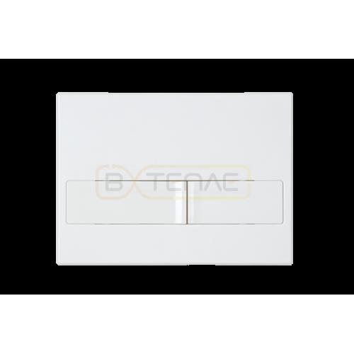 Инталяция для скрытого монтажа BERGES NOVUM L1 с белой кнопкой