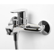 Смеситель WasserKRAFT Leine 3501 для ванны с коротким изливом, хром, 3501
