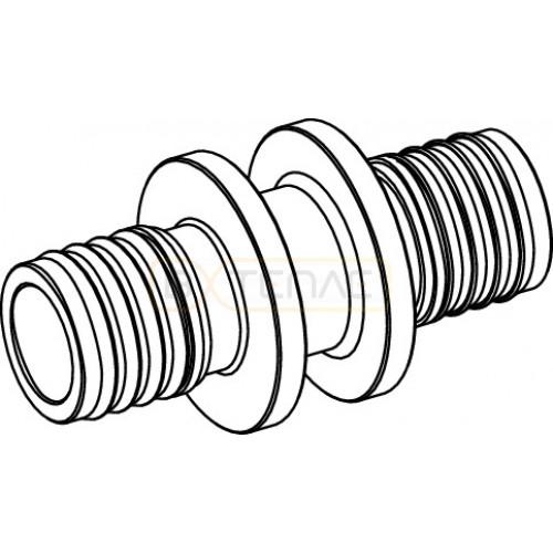 Соединение TECEflex труба-труба 25 x 25, латунь 766025