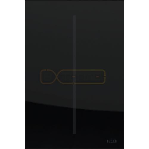 Кнопка смыва TECE Filo Urinal 220/12 В черное стекло