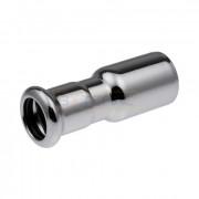 Переходник ниппельный Press KAN-Therm Steel, оцинкованная сталь 15x12, 620211.9