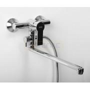 Смеситель WasserKRAFT Aммer 3702L для ванны с длинным поворотным изливом 350 мм, хром, 3702L