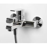 Смеситель WasserKRAFT Aммer 3701 для ванны с коротким изливом, хром, 3701