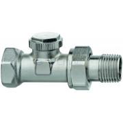 """Радиаторный запорно-регулирующий клапан IMI Heimeier REGUTEC F, DN20(3/4""""), проходной, латунь, 0332-03.000"""