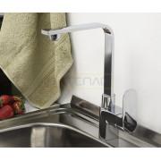 Смеситель WasserKRAFT Dinkel 5807 для кухни, хром, 5807