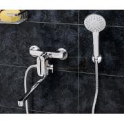 Смеситель WasserKRAFT Vils 5602L для ванны с длинным поворотным изливом 350 мм, хром, 5602L